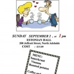 Nasring Lunch - Sun Sep 2, Adelaide