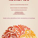 Kevadpidu at Estonian House Sydney - Sat Oct 24th 2PM