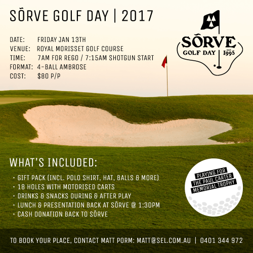 Sorve golf day