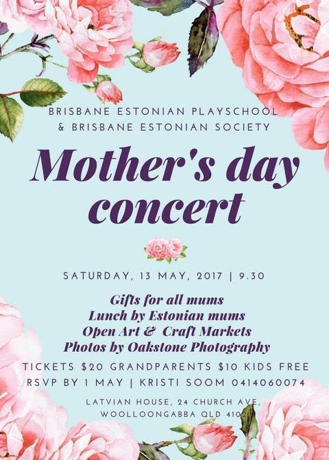 Mother's day date in Brisbane