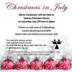 Sõrve Fundraiser – Christmas in July, Sydney July 29