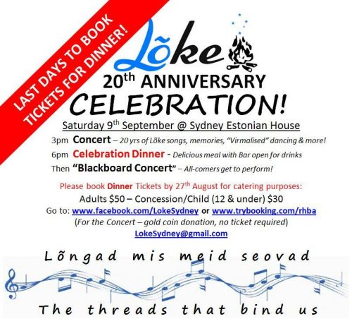 Lõke's 20th Anniversary Celebration
