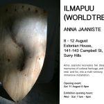 ILMAPUU (WORLD TREE) exhibition Aug 8 to 12