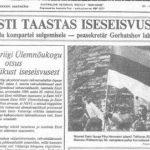For Estonian refugees, a masthead made a new home, half a world away - by Silvi Vann-Wall