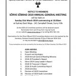 SÕRVE SÕBRAD 2019 ANNUAL GENERAL MEETING