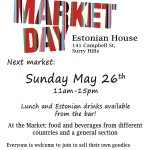 Market @ Estonian house in Sydney
