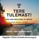 Online registration for Sõrve camp 2018 now Open
