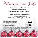 Sõrve Fundraiser – Christmas in July, Sydney July 29