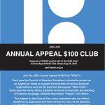 Council of Estonian Societies (AESL) 100 dollars club open