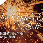Ticket sales for the NYE ball close on Thursday.   Don't miss out!